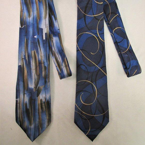 new men/'s J GARCIA necktie GEOMETRIC green COLLECTORS EDITION poly EMERALD CITY